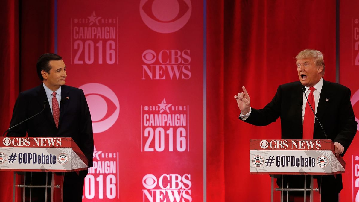 Ted Cruz (left) and Donald Trump (right). (Photo: AP)