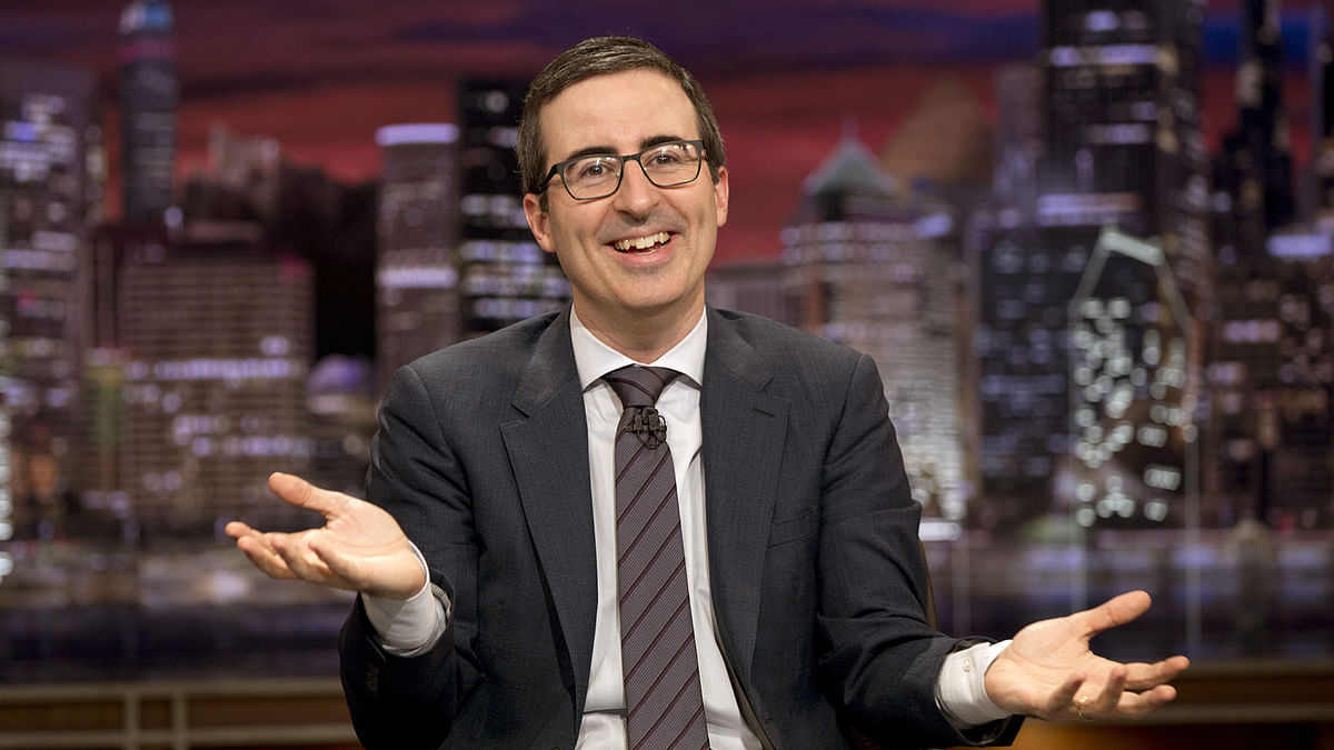 Comedian John Oliver from <i>Last Week Tonight with John Oliver.</i>&nbsp;