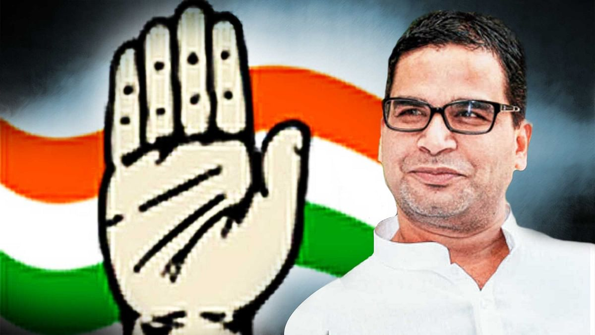 Strategist Prashant Kishor was helping Congress with the Punjab and Uttar Pradesh Assembly elections. (Photo: <b>The Quint</b>)