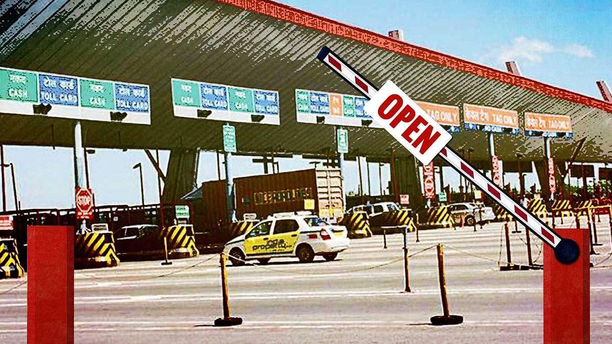Toll fee exemption is not such a good idea when one takes into account the amount of pollution caused by vehicles in our cities. (Photo: The Quint)