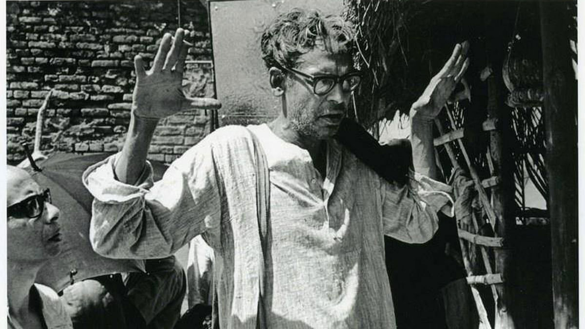 Ghatak stands at the confluence of tradition and avant-gardism