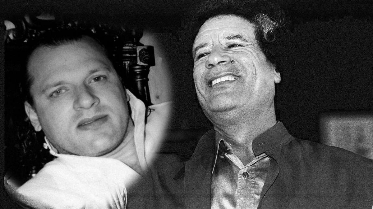 David Headley (left), Libyan dictator Muammar Gaddafi. (Photo: <b>The Quint</b>)