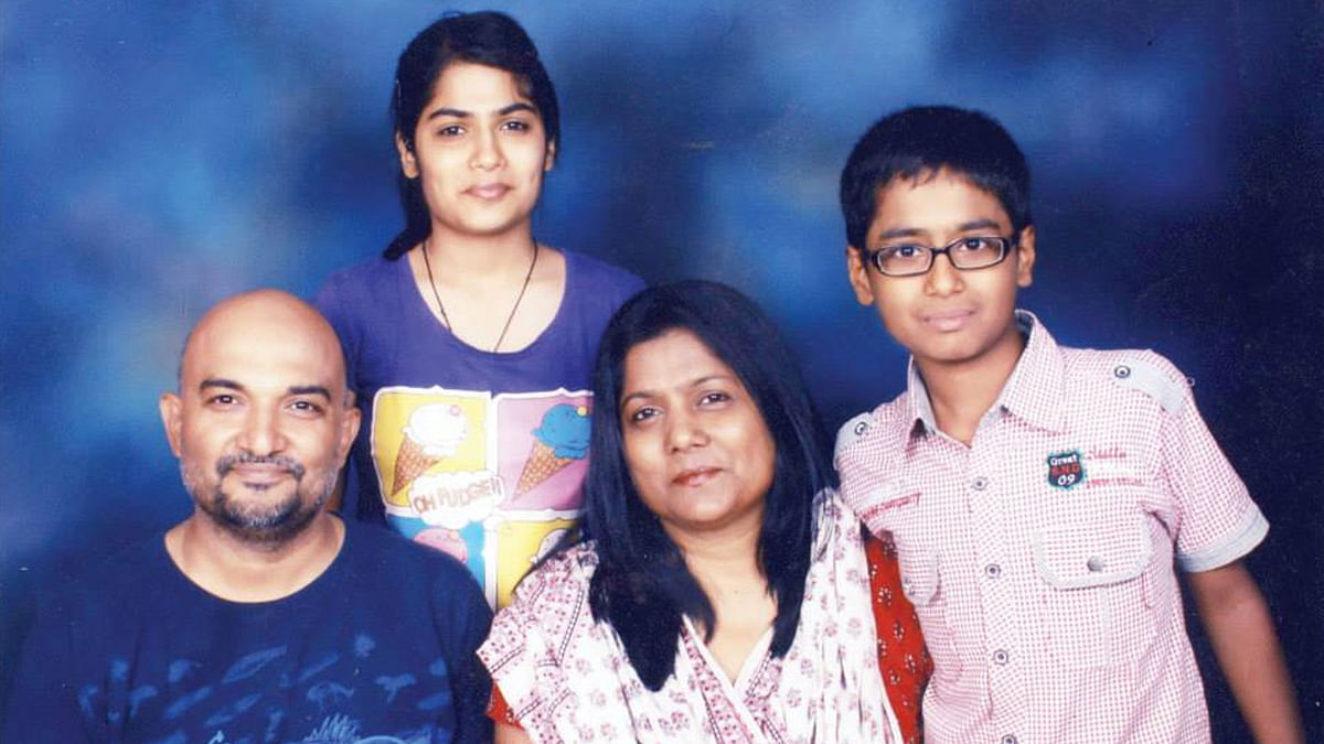 The happy family portrait. (Photo: Kirti Pandey)