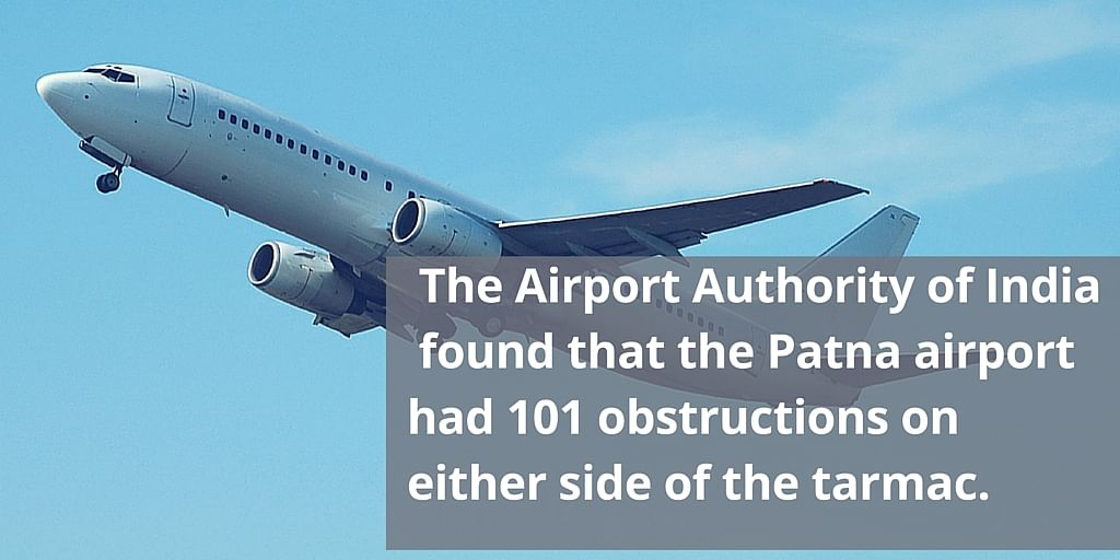 AAI found that the Patna airport was not fit for landing. (Representational image: iStockphoto)