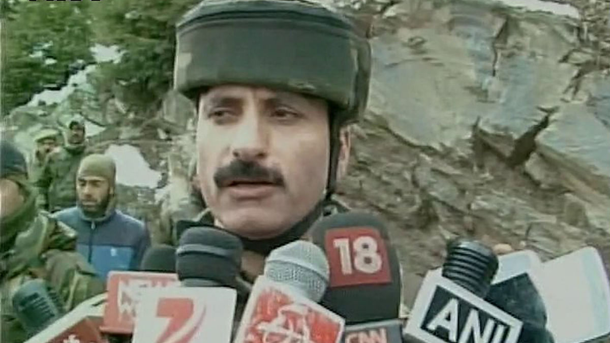 A total of 5 militants dead, have recovered bodies of 5 militants during our search ops, says SSP Ajaz Ahmad (Photo: ANI)