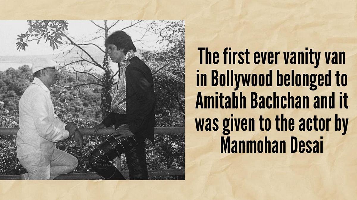 Big B Remembers the Original Showman on His B'Day, Manmohan Desai