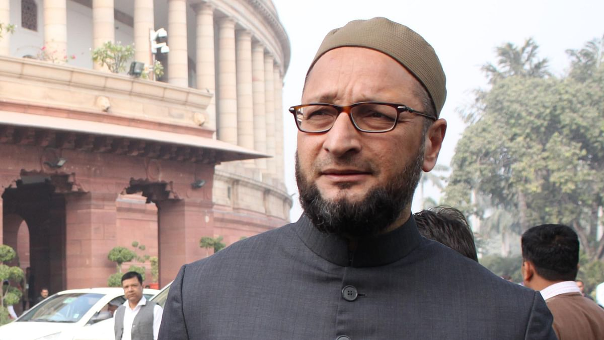 Asaduddin Owaisi Booked for Attacking Cong MLC in Hyderabad