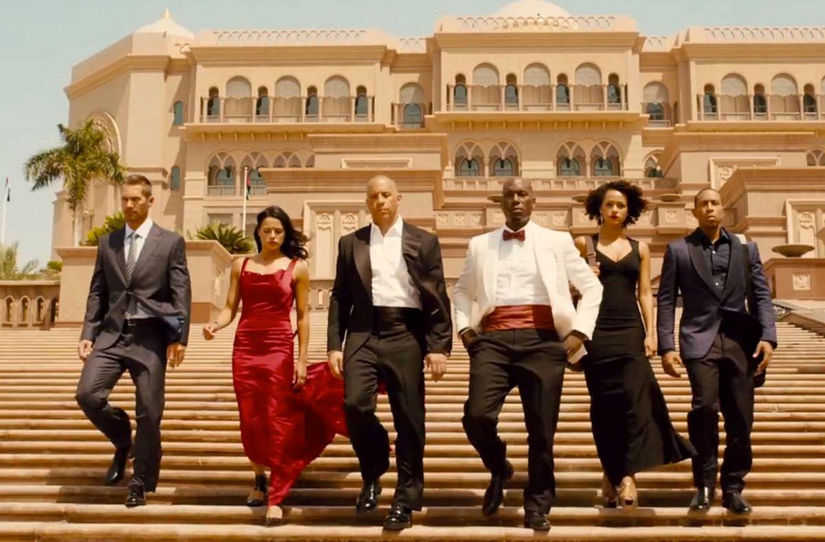 The movie <i>Furious</i> <i>7</i> has been shot at the stunning 7 star Emirates Palace hotel. (Photo Courtesy: YouTube screenshot)