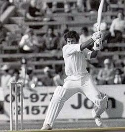 """Sunil Gavaskar's famous test début was in Port-of-Spain in 1971. (Photo Courtesy: <a href=""""https://singhiv.wordpress.com/2015/08/25/sunil-gavaskars-amazing-test-debut-in-the-west-indies-in-1971-excerpt-from-indra-vikram-singhs-book-dons-century/"""">singhiv.wordpress.com</a>)"""