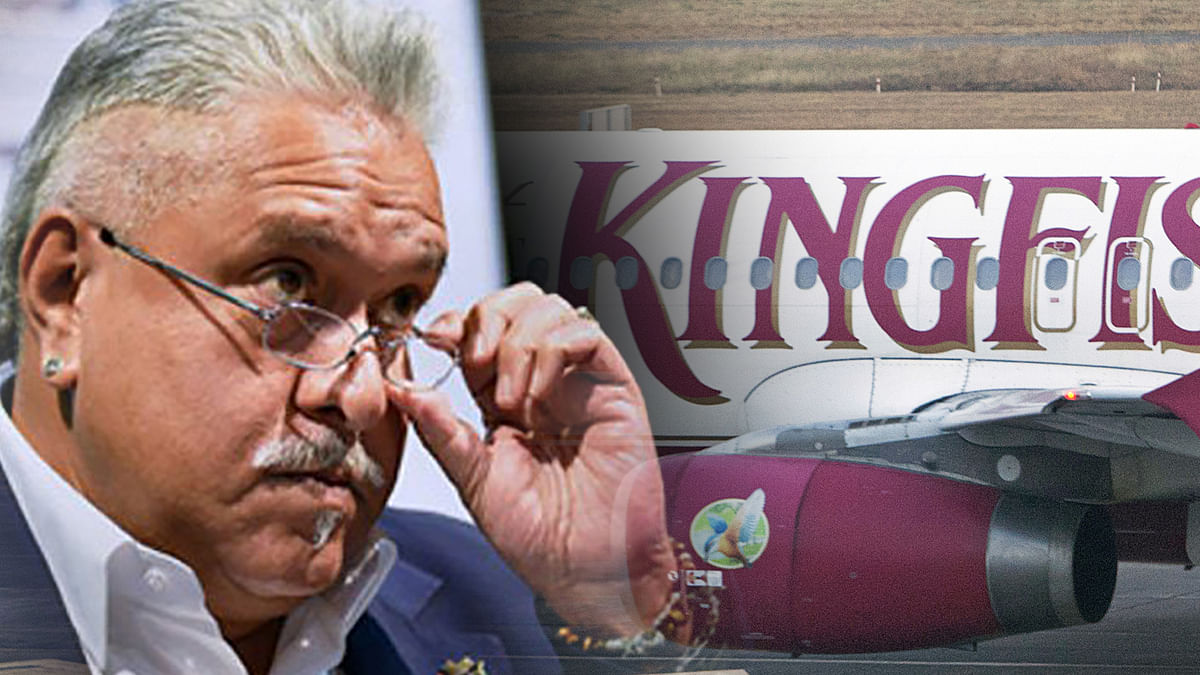 Former beer baron and owner of Kingfisher Airlines, Vijay Mallya.