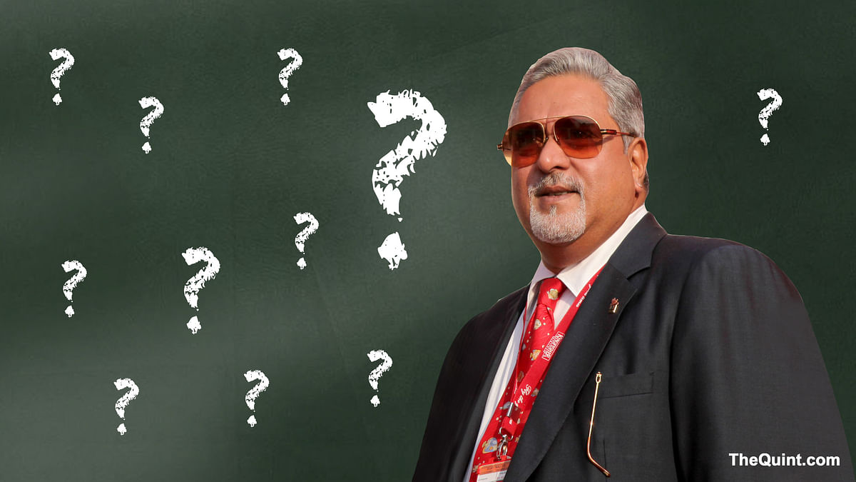 Vijay Mallya seeks more time to appear before the Enforcement Directorate for questioning. (Photo:<b> The Quint</b>)