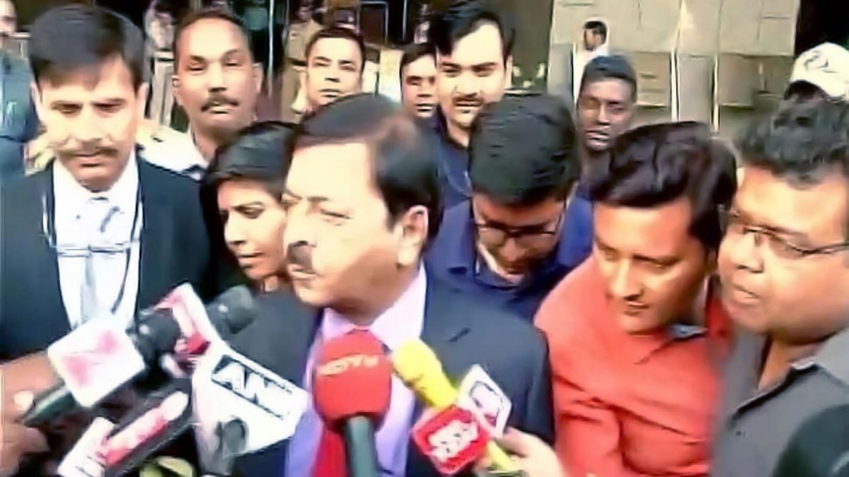 Sharad Kumar, Director General of NIA, briefing the media. (Photo Courtesy: ANI)