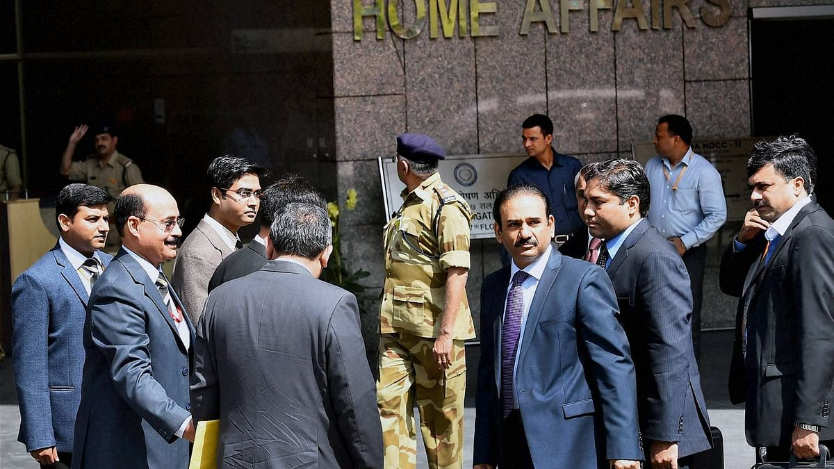 The five-member Pakistan JIT at the NIA headquaters in Delhi. (File Photo: PTI)