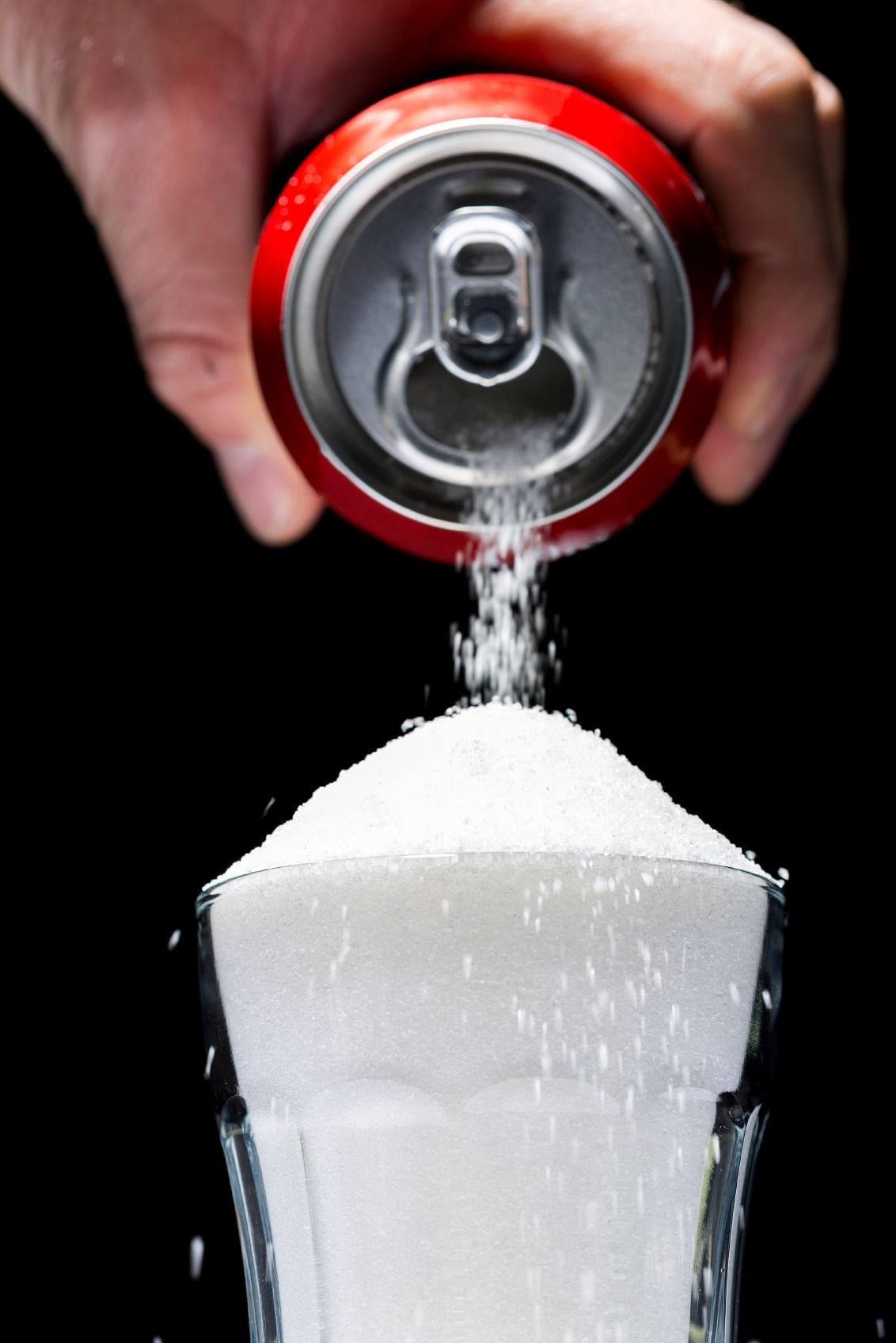 A normal size can of soda (diet or not) reduces the efficiency of the immune system by almost 50%, for 4-8 hours.
