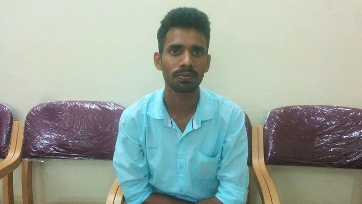 25-year-old Raghu was denied a passport. (Photo Courtesy: <i>The News Minute</i>)
