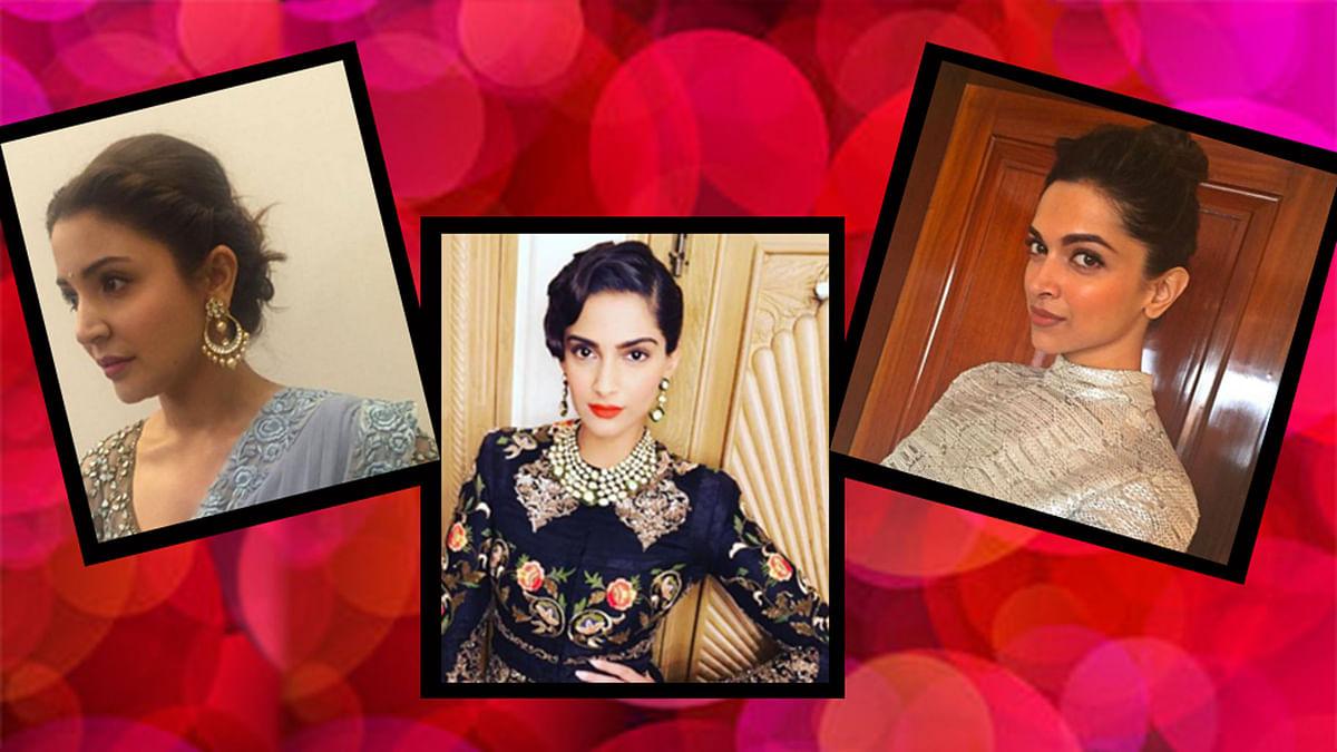 Anushka Sharma, Sonam Kapoor & Deepika Padukone lend you hairstyle inspiration for the rash summers (Photos: Instagram)