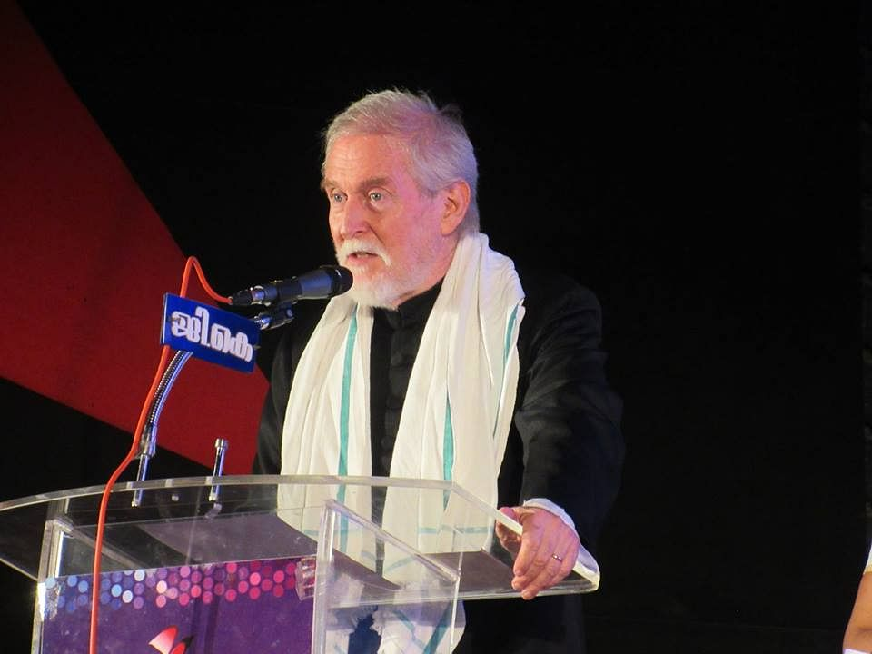 Tom Alter inaugurates the 8th edition of the International Documentary and Short Film Festival of Kerala (IDSFFK 2015) in Trivandrum on 26 June 2015 (Photo courtesy: Facebook)