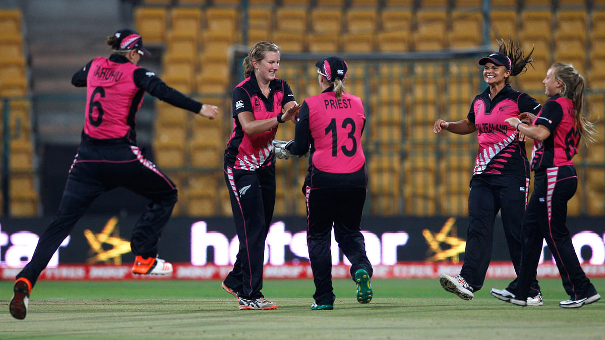 New Zealand will aim to continue their momentum and seal a place in the final when they take on the West Indies. (Photo: AP)