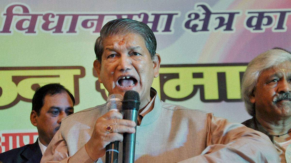 Uttarakhand CM Harish Rawat.(Photo:PTI)