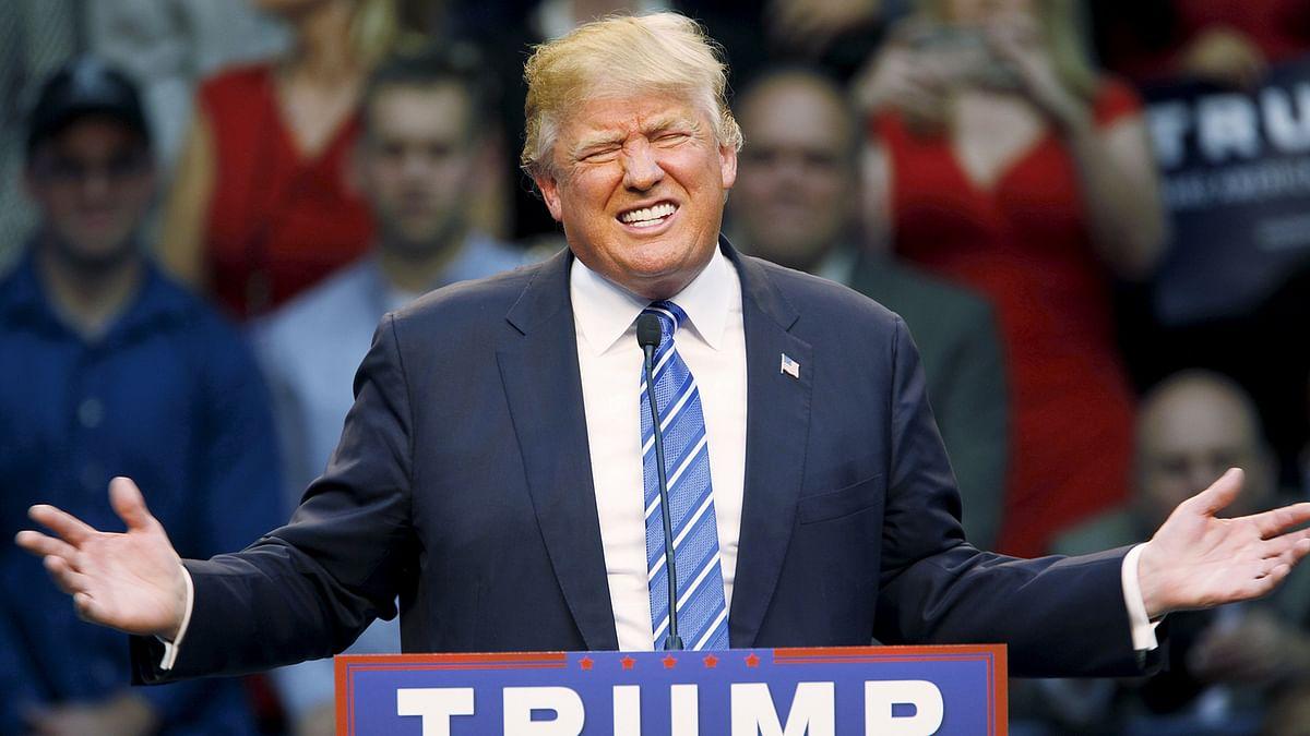 Putin said Donald Trump has his finger on the pulse of US society. (Photo:AP)