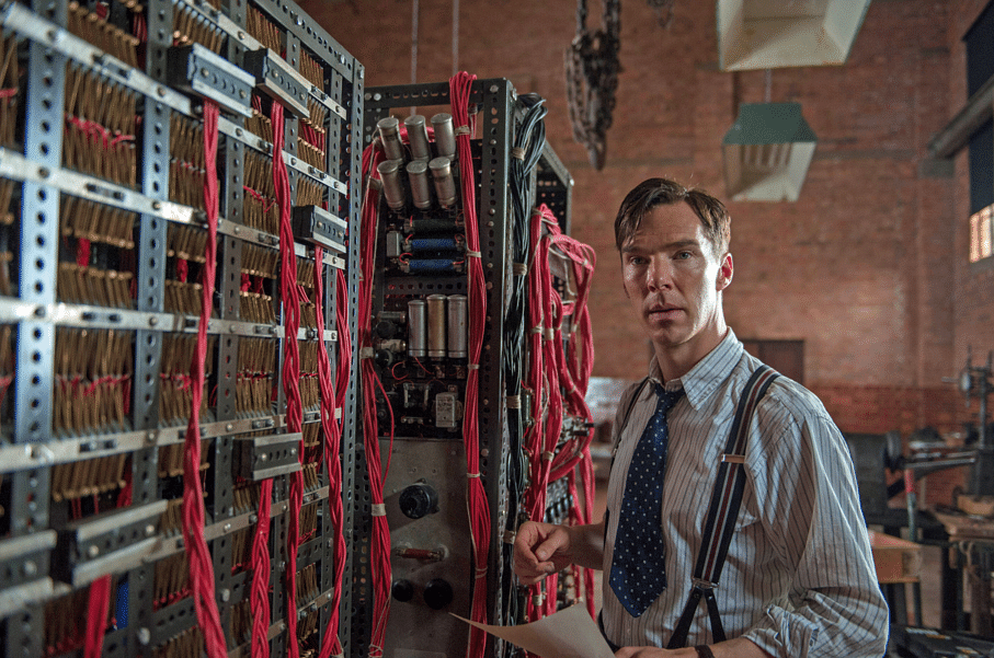 Benedict Cumberbatch starred as gay mathematician Alan Turing in the 2014 movie <i>The Imitation Game</i>. (Photo Courtesy: YouTube screenshot)