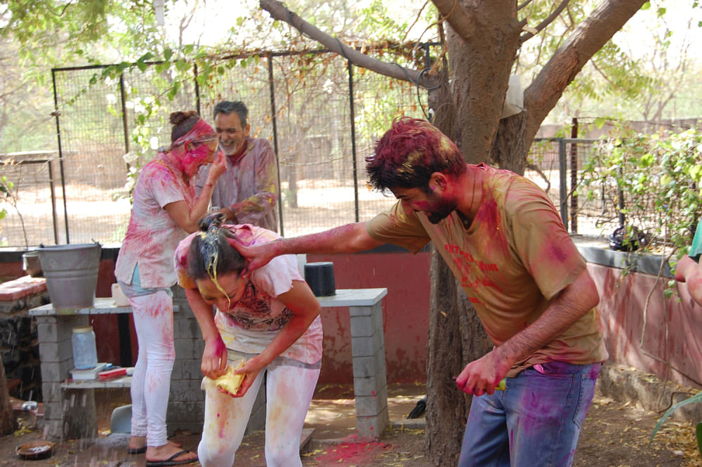 """We all have played with raw eggs on Holi. (Photo: <a href=""""http://strangecrossing.wordpress.com/2012/03/14/holi-holy-shit-and-other-half-baked-thoughts"""">Blog</a>)"""