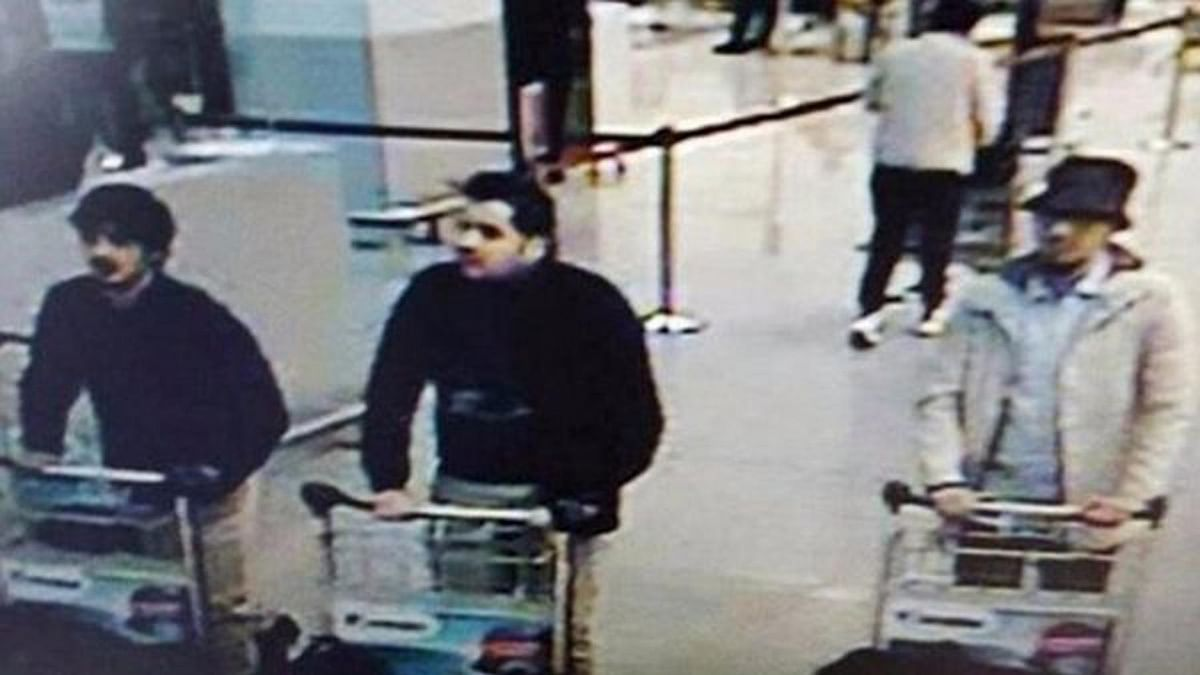The white jacket man is the sole suspect alive in connection with the Brussels attack. (Photo: AP)