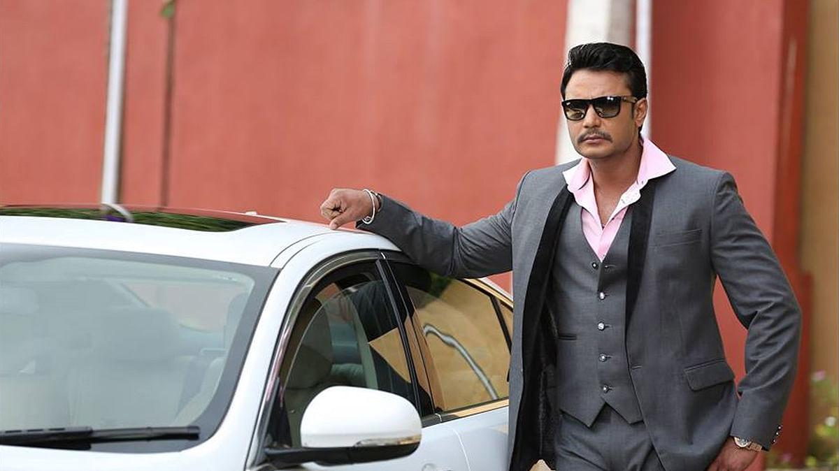 Sandalwood actor Darshan.