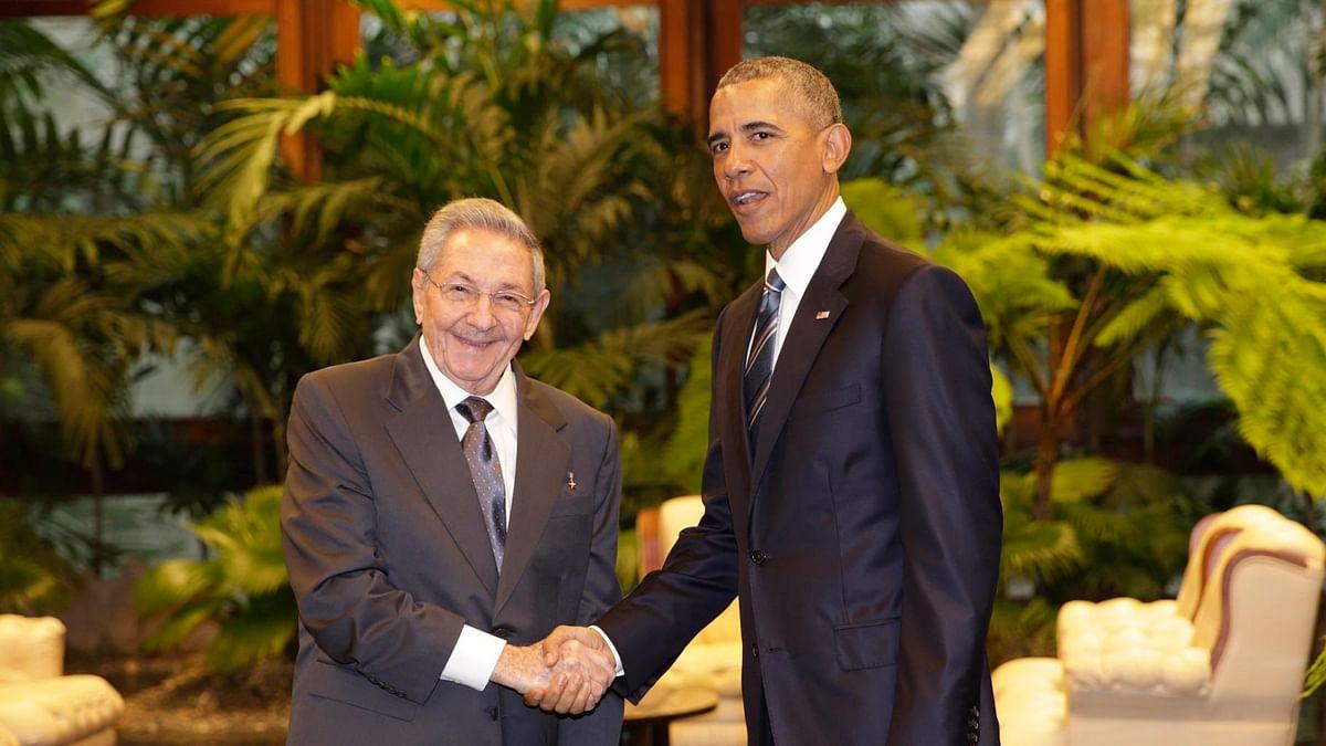 US President Barack Obama and Cuban President Raul Castro. (Photo: AP)