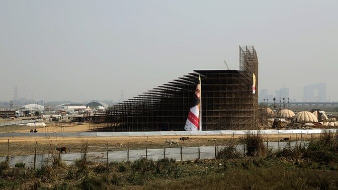 """The NGT was content to let the construction and event continue, imposing a """"fine"""" of Rs 5 crore on the organisers.(Photo: Siddharth Safaya)"""