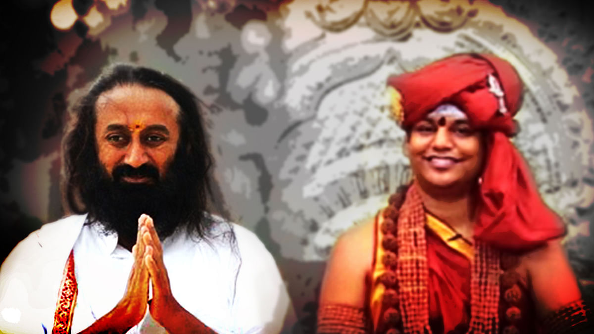In Artful Living,  Sri Sri and Nityananda Have Much in Common