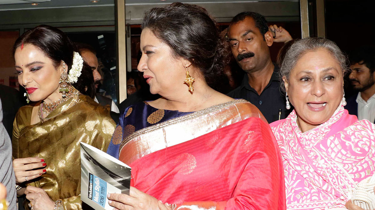 Rekha, Shabana Azmi and Jaya Bachchan (Photo: Yogen Shah)