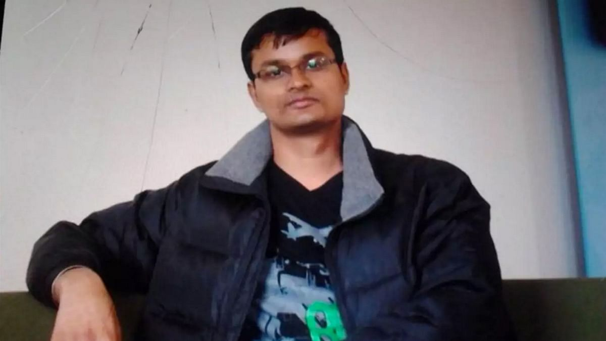 """Picture of Raghavendran Ganeshan, Infosys employee from Bangalore, missing in Brussels after the attack. (Photo Courtesy: <a href=""""https://twitter.com/SushmaSwaraj/status/712624144907546624"""">Twitter.com/@SushmaSwaraj</a>)"""