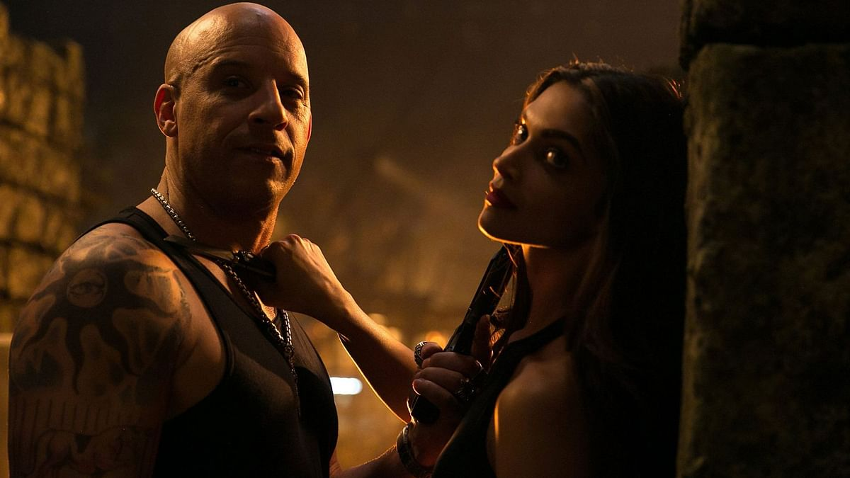 """Vin Diesel &amp; Deepika Padukone ready to slay each other in <i>xXx: The Return of Xander Cage.</i> (Photo Courtesy: <a href=""""https://www.facebook.com/VinDiesel/?fref=ts"""">Facebook/VinDiesel</a>)"""