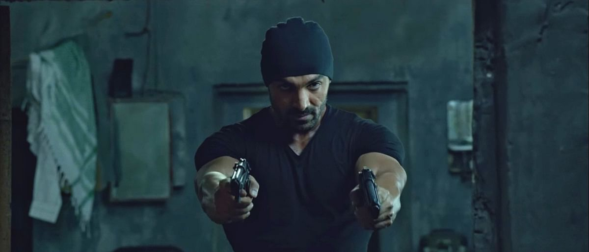John Abraham is objectified like a Bollywood heroine in <i>Rocky Handsome</i>