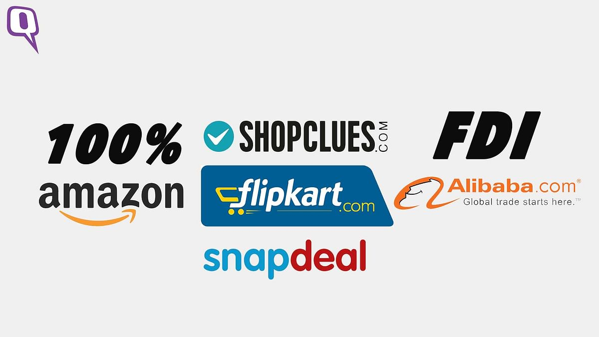The Government is bringing in 100% FDI in the e-commerce sector in India. (Photo: <b>The Quint</b>)