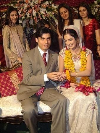 """When they became an official couple (Photo: <a href=""""http://www.fawadafzalkhan.com/2012/01/fawad-afzal-khan-wedding-photos.html"""">www.fawadafzalkhan.com</a>)"""