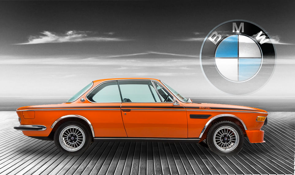 1972 BMW E9 3.0 CSL. (Photo: Altered by <b>The Quint</b>)