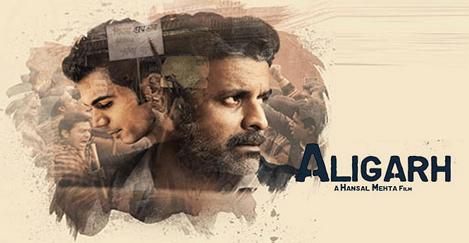 Poster of the movie <i>Aligarh</i>, which was based on homosexuality.&nbsp;