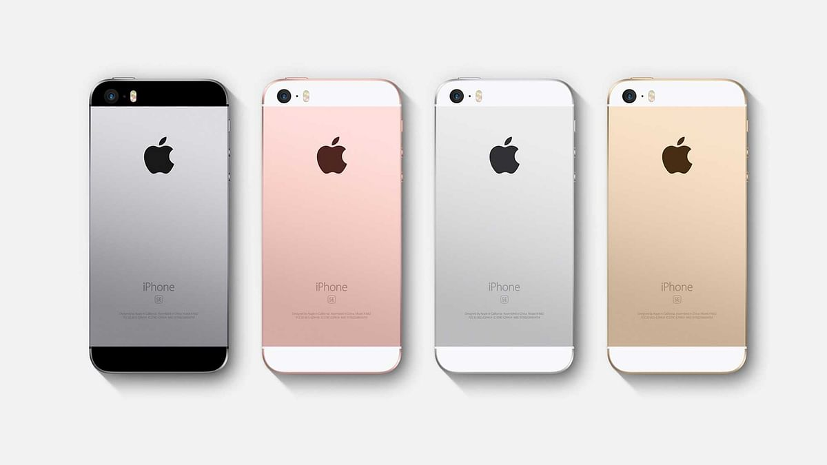 Apple iPhone SE. (Photo: Apple)