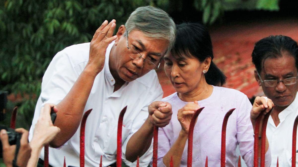 Myanmar President Seeks Change of Suu Kyi's Portfolios