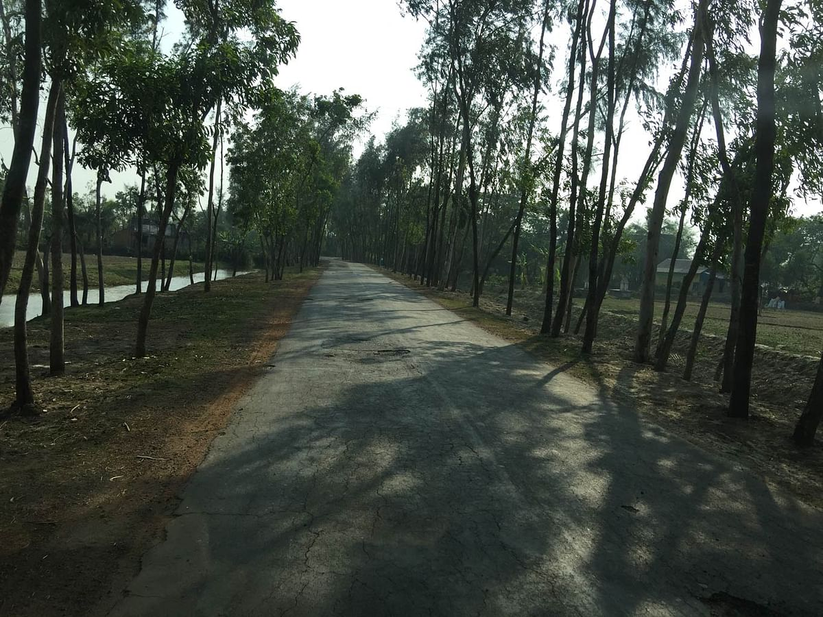 Paved roads mean that Nandigram is now easily accessible. (Photo: <b>The Quint</b>/Abhirup Dam)