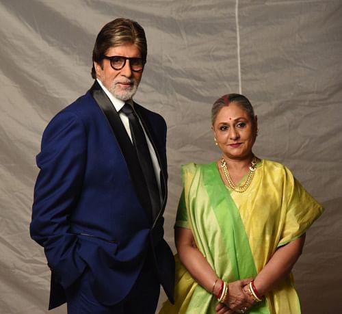Jaya Bachchan and Amitabh Bachchan make a perfect Bengali couple (Photo: srbachchan.tumblr.com)