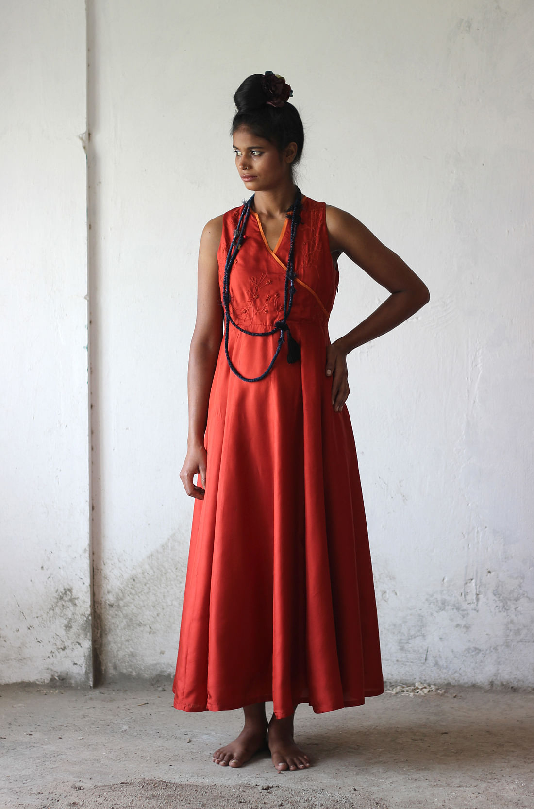 Conventional body-size and fashion look is giving way to a real, raw and simplistic idea of beauty. (Photo Courtesy: Kamla, Shades Of India)