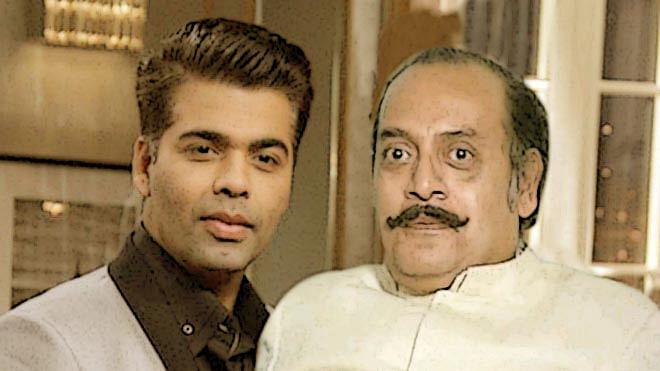 When Utpal Dutt made his debut on Karan Johar's show. (Photo: Altered by The Quint)