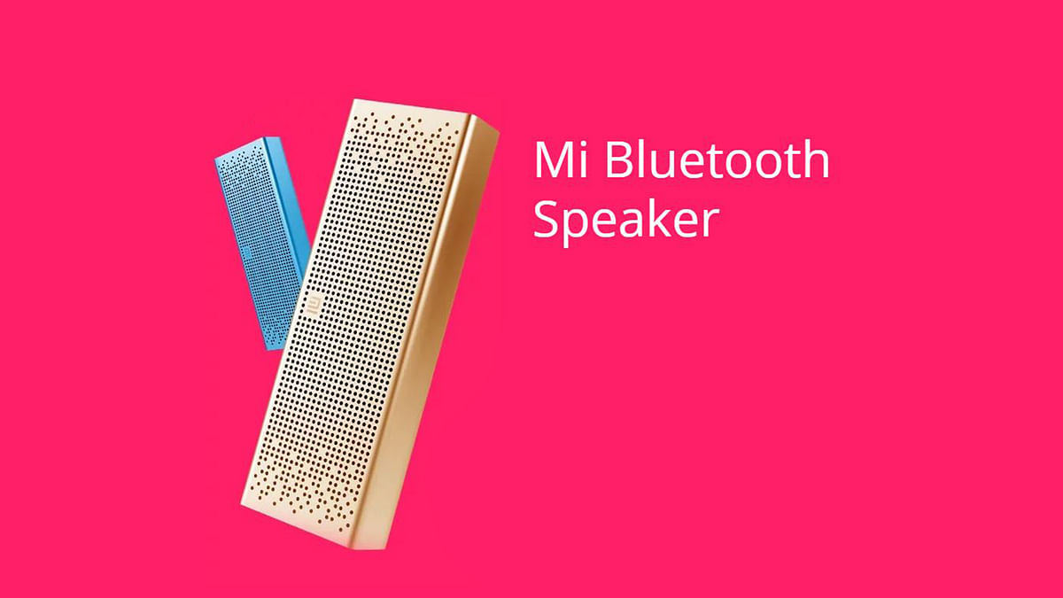 You get a chance to buy the Xiaomi Mi Bluetooth speaker this week. (Photo: Xiaomi)