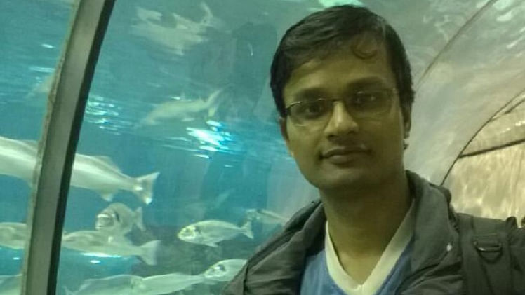 File photo of Raghavendran Ganeshan. (Photo Courtesy: The News Minute)
