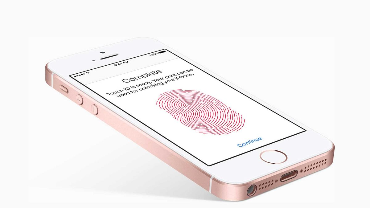 The Apple iPhone SE supports Touch ID for Apple Pay like services. (Photo: Apple)
