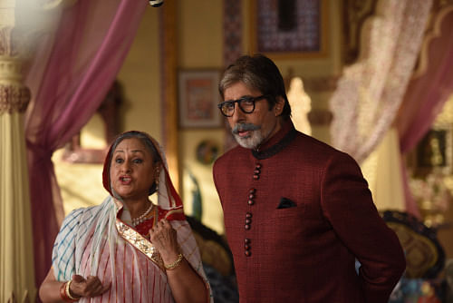 The Marwari look suits them quite well, don't you think? (Photo: srbachchan.tumblr.com)