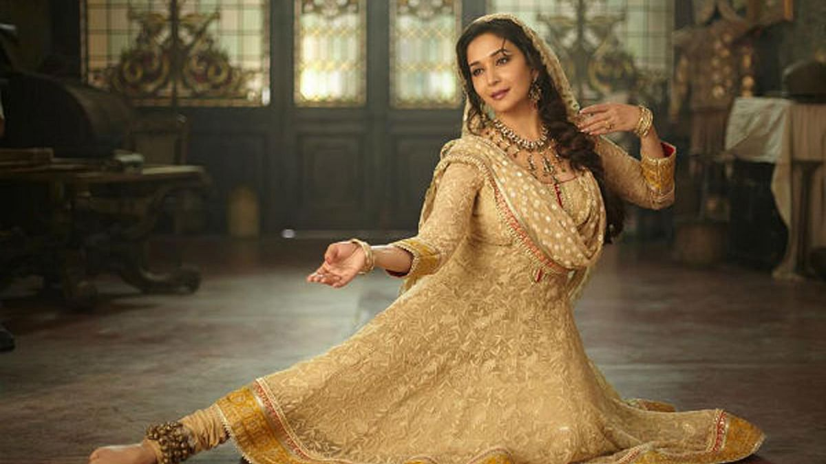 Madhuri Dixit in a scene from<i> Devdas</i>